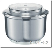 Bosch Universal Plus Stainless Steel Bowl MUZ6ER2