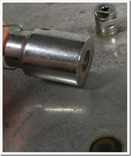 Presto Canner Lid Vent Pipe and Overpressure Plug Hole